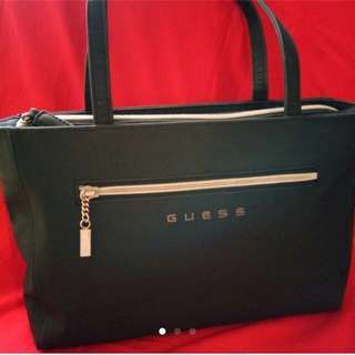 Guess Embroidered Logo Classic Bag
