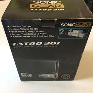 Sonic Gear Tatoo 301 multimedia speakers
