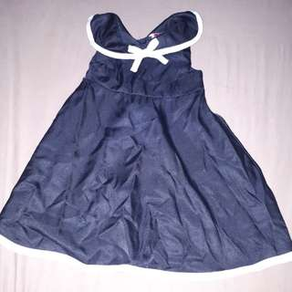Sailor dress used once only 3-9 mos