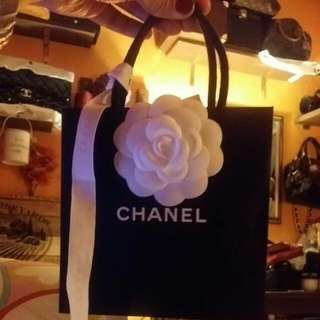 chanel small paper bag. 30 each 0r 50 for 2