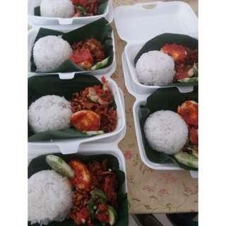 Nasi pedas Lombok