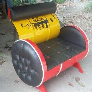 Sofa drum kursi drum kreasi