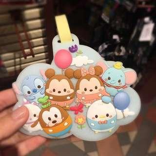 Disney tsum tsum 行李牌
