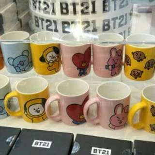[NEW] BT21 OFFICIAL MUGS