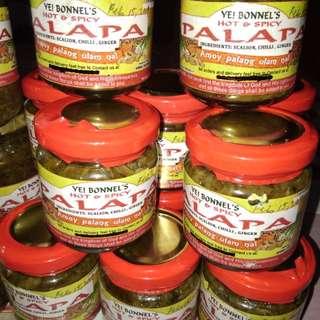 PALAPA appetizer/condiments