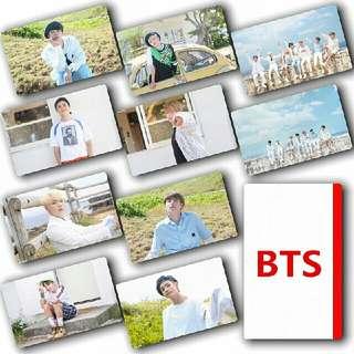 BTS Sticker Photocards