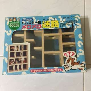 Hamster toy maze