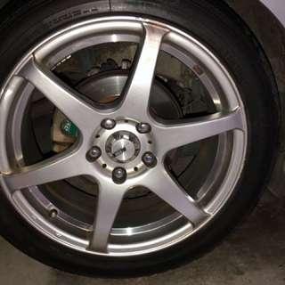 17 inch rim for sale5 x 1143