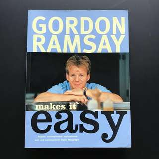 Gordon Ramsay cookbook