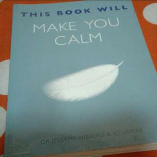 This book will make you calm  Dr jessemy hibberd  Pick up hougang buangkok