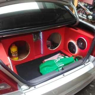 Trima pesanan box woper rmhan dan mobil