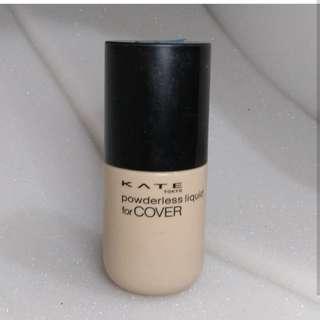 Kanebo kate powderless foundation