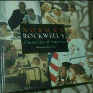 Art And Design Book  Norman Rockwells Chronicles Of America  Design Art Students