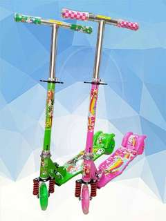 Character scooter for kids