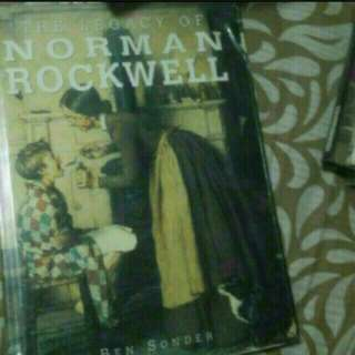 Art And Design Graphic Design  The Legacy of Norman Rockwell  Hardcover  Pickup hougang Buangkok Mrt