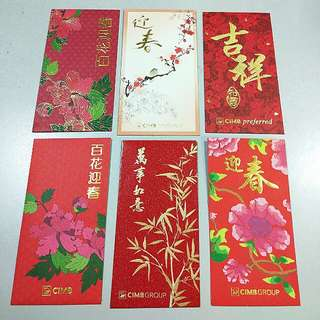 CIMB angpau collection #Bajet20