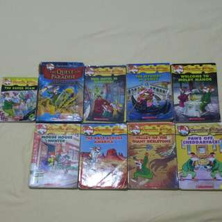 Geronimo Stilton Books.