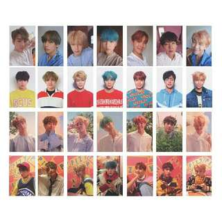 BTS Love Yourself Replicards Full Set