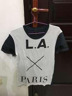 Zara Graphic Tees - Size S