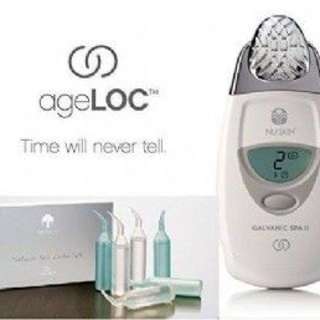 Nuskin Galvanic Spa treatment