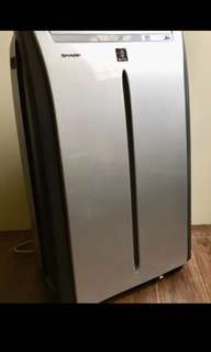 Sharp Portable Aircon (used 5 to 6 times, like brand new)