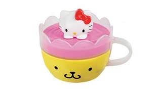 Hello kitty Sanrio 2017 edition happy meal (pompurin mug)