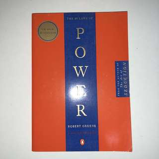 ***quick sale $12***  The 48 Laws of Power by Robert Greene