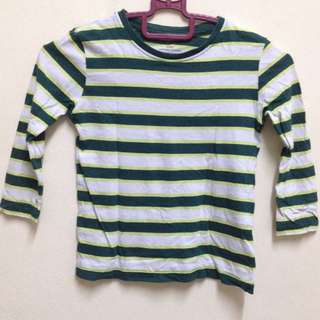 H&M long sleeve shirt 2-4 yrs