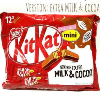 Kitkat Milk and Cocoa
