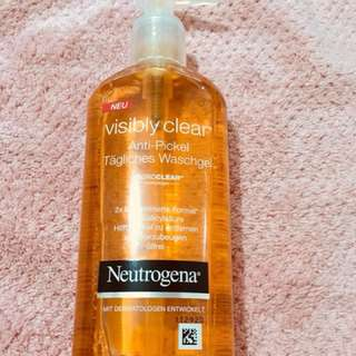 Neutrogena Anti-Acne Facial wash with Salicylic acid
