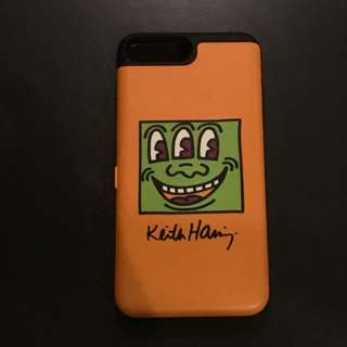 Keith Haring iphone 7plus mirror and card casing