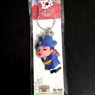 Boy Kissing Keychain