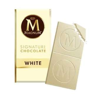 Magnum Chocolate White