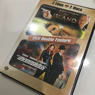 DVD Double Features - The Island and The Avengers