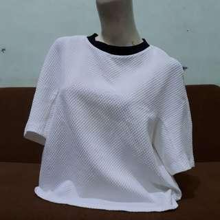 Blouse white Zara