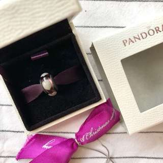 Pandora Heart Murano Purple Charm