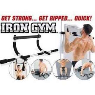 Iron Gym - Total Upper Body Workout Bar