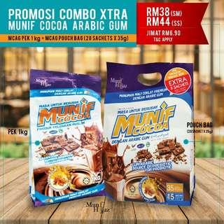 Munif cocoa arabic gum combo XTRA
