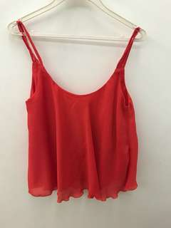 Cami Top with Scallop hem