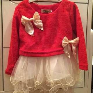 Dress Red Girl