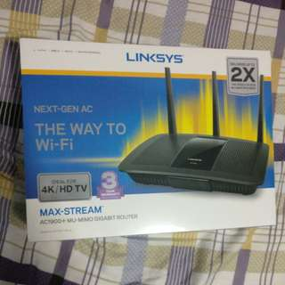 Linksys AC1900+ MU-MIMO Router
