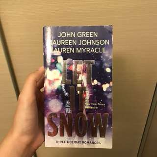 Let It Snow Book by John Green