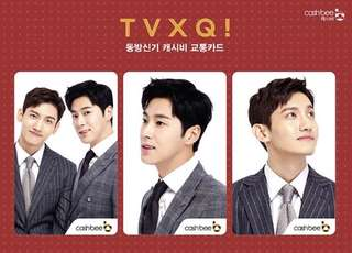 TVXQ - Cashbee Card