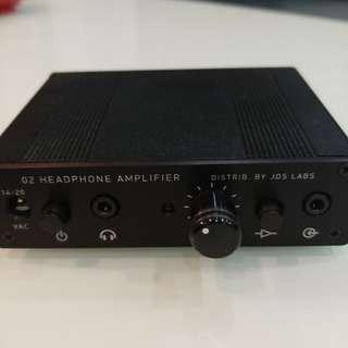JDS O2 headphone amplifier and DAC