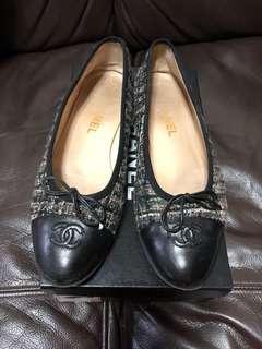 Chanel Black Flat