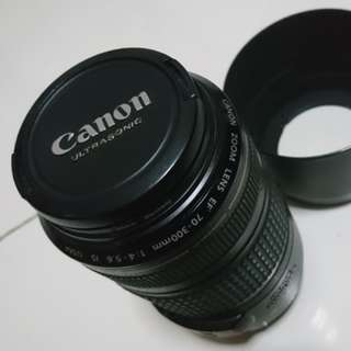 Canon 70-300 USM IS lens
