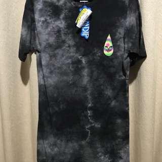 Rip N Dip Exclusive Tie Dye Nermal Cat Alien Tee Shirt