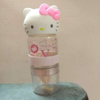 Cindy preloved Hello Kitty orange grinder