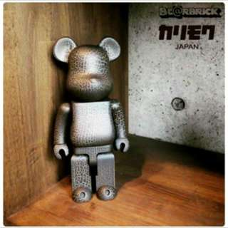 Medicom Toy Be@rbrick Wood 木 Bearbrick 爆裂木紋 限量 Figure 熊仔