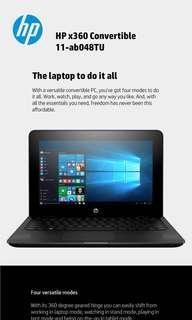 "Brand New HP x360 Convertible 11-ab048TU 11.6"" Touchscreen Laptop(sealed)"